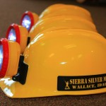 Wallace Silver Mine tour hard hats